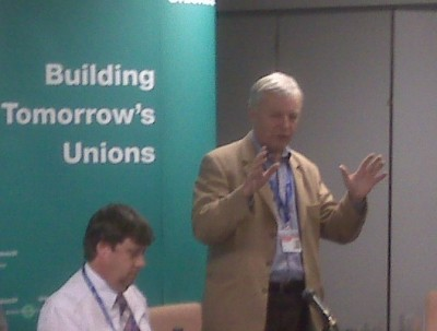 John Monk\'s speaking at today\'s fringe