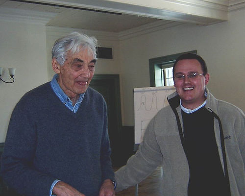 Howard Zinn at the HTUP
