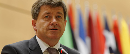 New ILO Secretary General Elect, Guy Rider