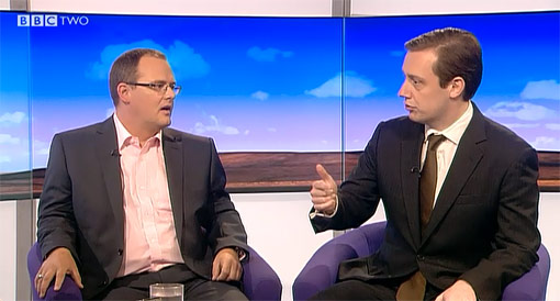 Paul and Matthew Sinclair on the Daily Politics