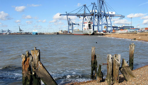 Port of Felixstowe. Photo: Rodney Harris