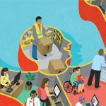 Image from the cover of new TUC report on wellbeing at work