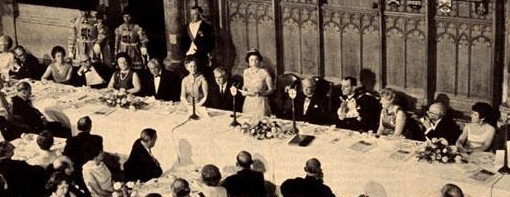 Queen Elizabeth II at the TUC