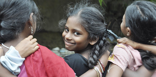 Child domestic workers in India