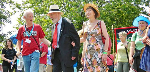 Tolpuddle procession