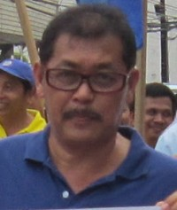Antonio 'Dodong' Petalcorin, transport union leader assasinated last month