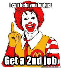 McDonalds workers' campaign graphic