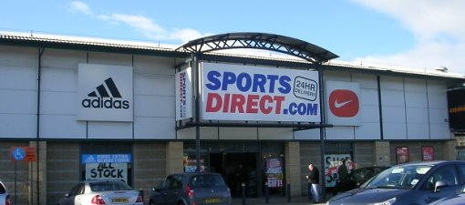 Sports Direct. Photo Betty Longbottom