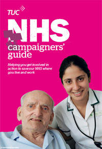 NHS Campaigners' Guide - front cover