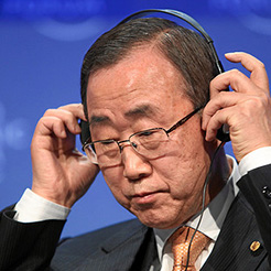 UN Secretary General Ban-Ki-Moon. Photo: UN