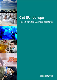 Cut EU Red Tape report