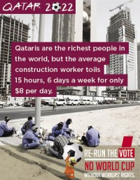 Qatar world cup exploitation