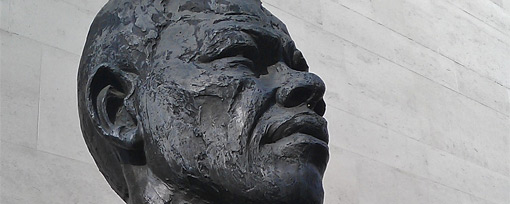 Nelson Mandela statue, Southbank, London