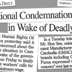 Cambodia Daily headline
