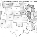 US Bureau of Labor Statistics union membership survey