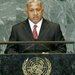 Frank Bainimarama at the UN