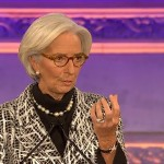 Christine Lagarde gives the annual Richard Dimbleby lecture.