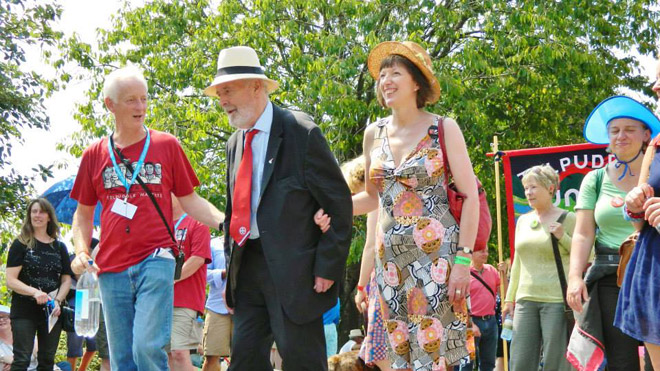 Tony Benn on Tolpuddle march