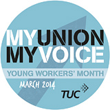 Young Worker's Month 2014 logo