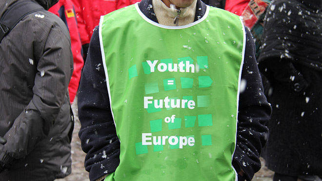 ETUC youth rally