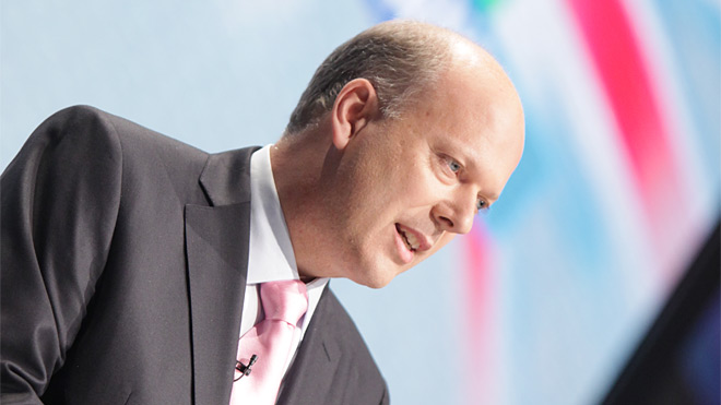 Chris Grayling, the Justice Minister