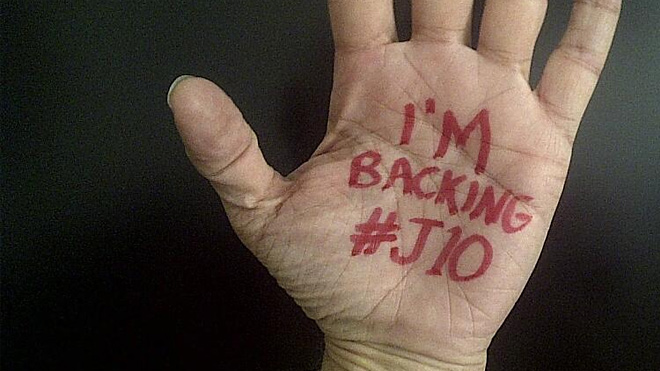 Hands up: I'm backing #J10