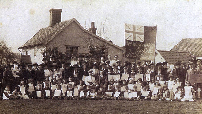 Burston Strike School 1914