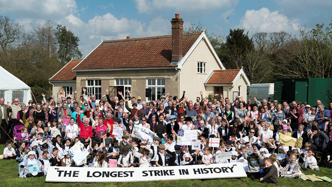 Burston Strike School 2014