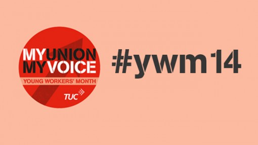 Young Workers Month logo