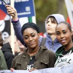 Young workers lead TUC march