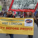 HSE protest