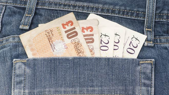 pay in pocket