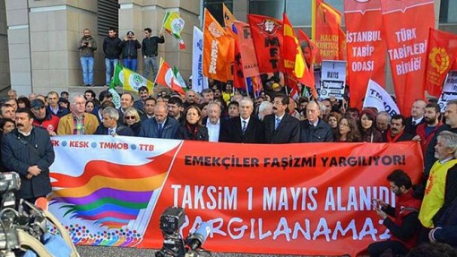 Taksim Square May Day 2014