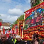 May Day 2015 march