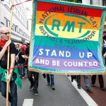 RMT marchers on London Pride 2012