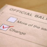 voting for change