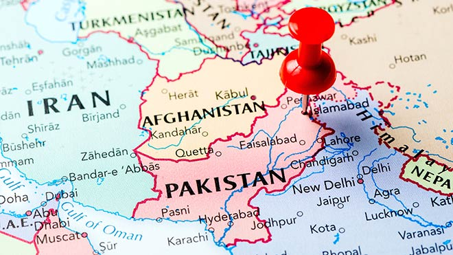 Pakistan On Map Pakistan: one of the terrible ten worst countries for workers' rights