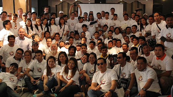 Migrant workers' meeting. Photo BWI