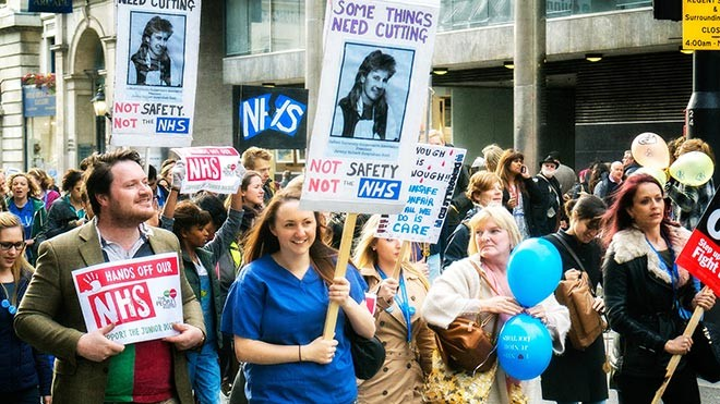 junior doctors' march