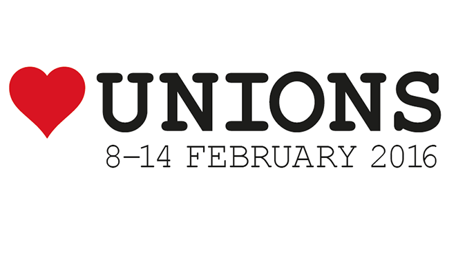 heartunions week - 8-14 February 2016