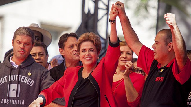 Dilma Rousseff May Day 2016