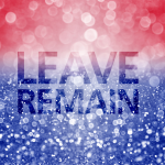 Leave and Remain graphic
